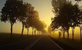 Mazurska mgła, czyli jesień puka w kalendarz