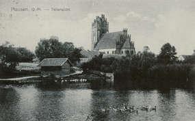 Kościół w Paluzach przed Ii wojną światową.