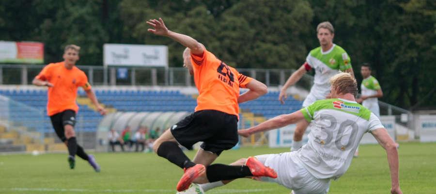 Piłkarze Concordii Elbląg walczą o utrzymanie w III lidze