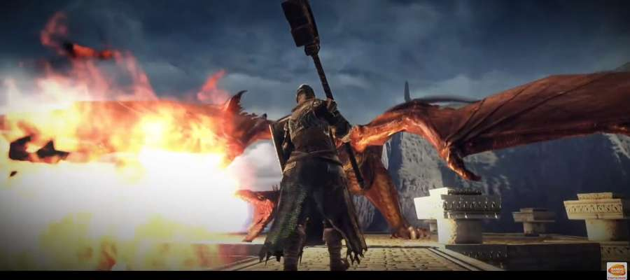 "Fragment nagrania: ""Dark Souls II: Scholar of the First Sin - Announcement Trailer"""