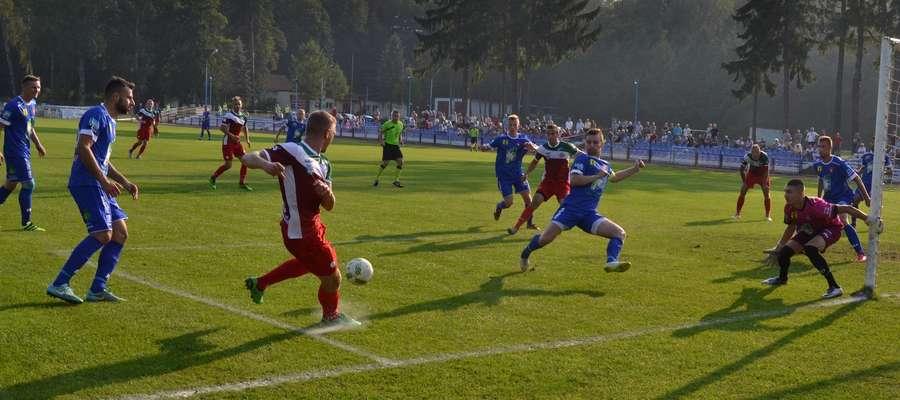Kaczkan Huragan Morąg na własnym stadionie pokonał MKS Ełk