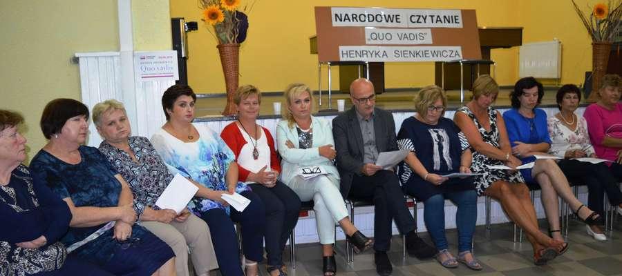 Narodowe Czytanie w gminie Markusy