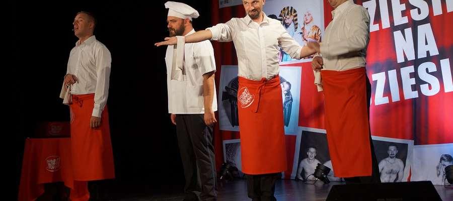 Kabaret Młodych Panów na scenie POK