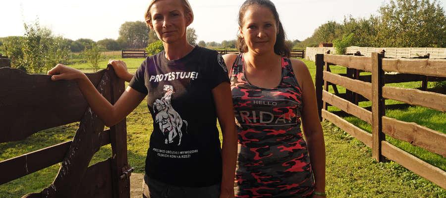 Karolina Zagrodzka i Anna Turko chcą ratować konie z targów śmierci