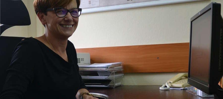 Bernadeta Hordejuk jest radną wojewódzką i pracownikiem Starostwa Powiatowego w Iławie