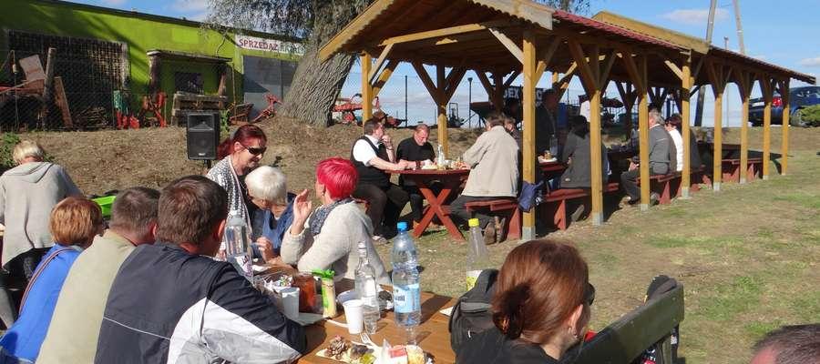 Impreza integracyjna w Kiwitach
