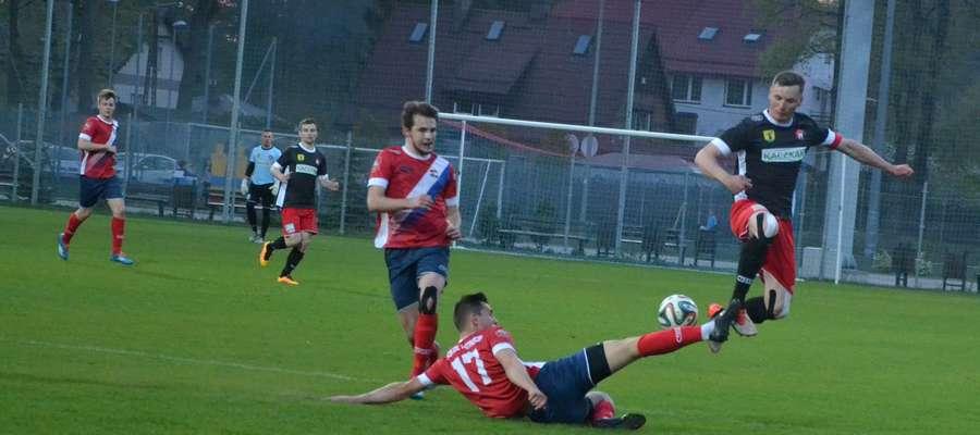 Wiosną piłkarze Kaczkana Huraganu w Ostródzie wygrali 3:0