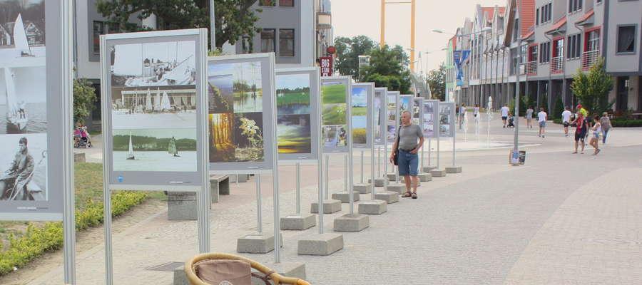 Stowarzyszenie Wspólnota Mazurska jest m.in. organizatorem wystaw - m.in. wystawy fotografii Leszka Siwickiego, którą mogliśmy oglądać na Pasażu Portowym w Giżycku