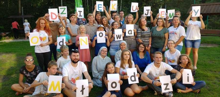 Ekipa ewangelizatorów z siostrami i uczestnikami rekolekcji dziękuje tym, którzy pomogli w organizacji rekolekcji.