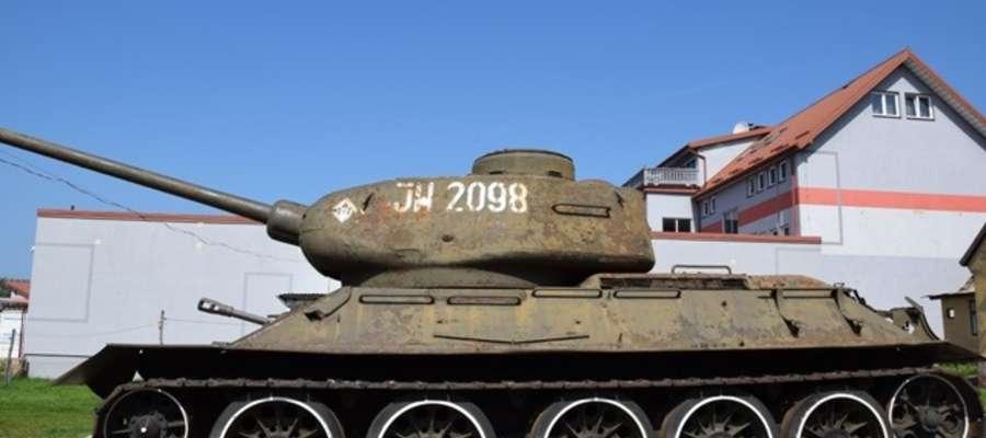 Tego typu czołgi stacjonowały w Giżycku i Orzyszu