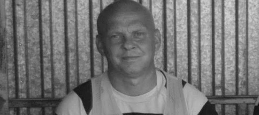 Jedno z ostatnich zdjęć śp. Marka Zybowskiego, wykonane podczas sobotniego meczu z Jeziorakiem Iława