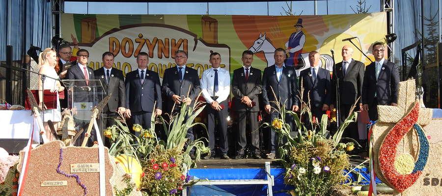 Rolników z całego powiatu nowomiejskiego uhonorowano medalami Zasłużony dla Rolnictwa