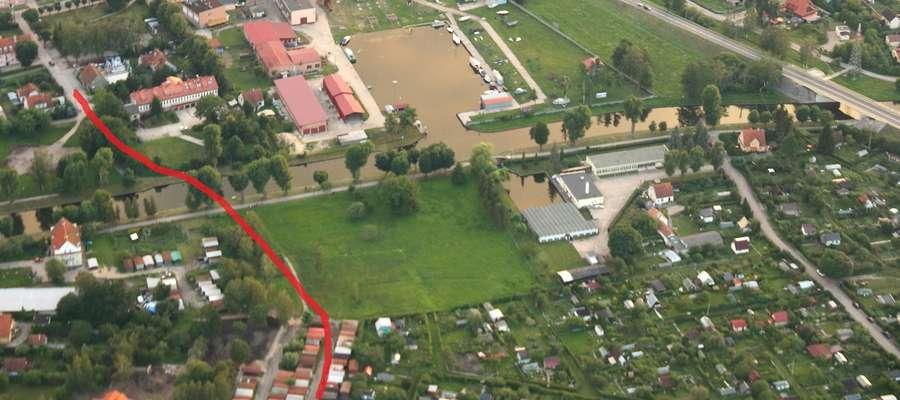 Most ma powstać między ulicą Łuczańską a dojazdem do ulicy Jasnej i Sikorskiego