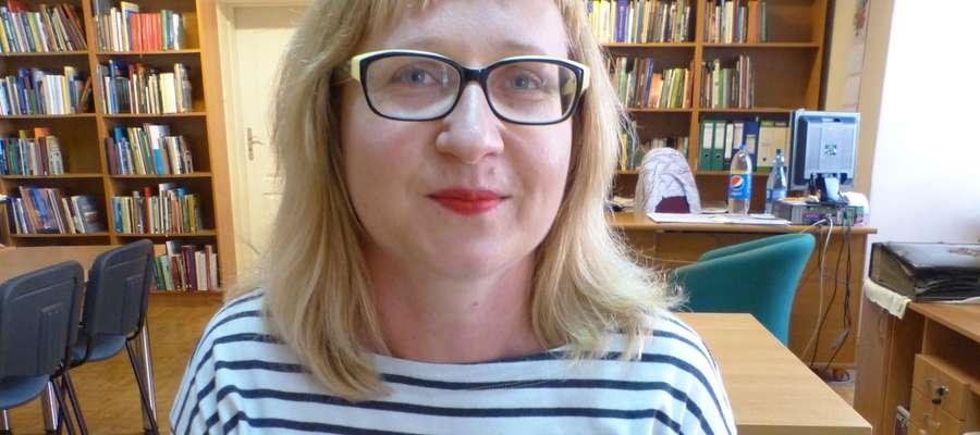 Aleksandra Buła z Działu Komunikacji Społecznej Biblioteki Elbląskiej
