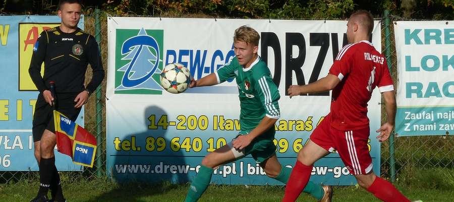 W poprzednim meczu u siebie GKS Wikielec wygrał z Romintą Gołdap (zdjęcie z tego pojedynku). Teraz też liczymy na 3 pkt.