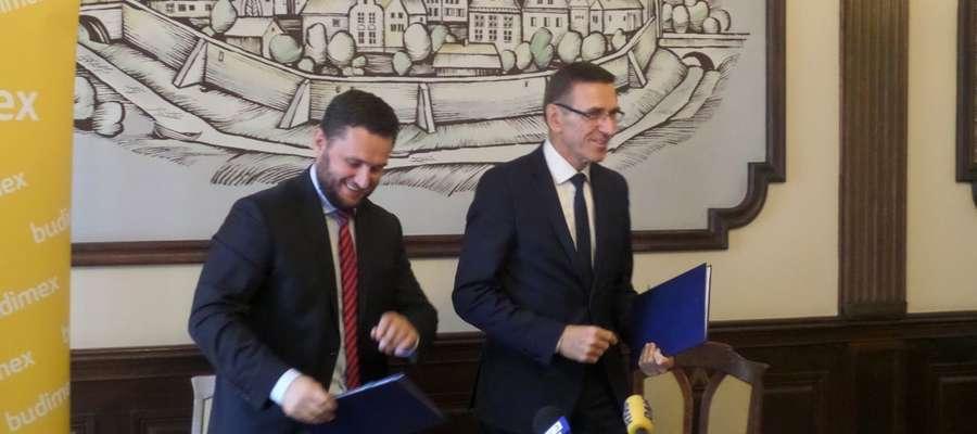 Umowa na Towarową podpisana. Powstaną m.in. ścieżki i zatoki