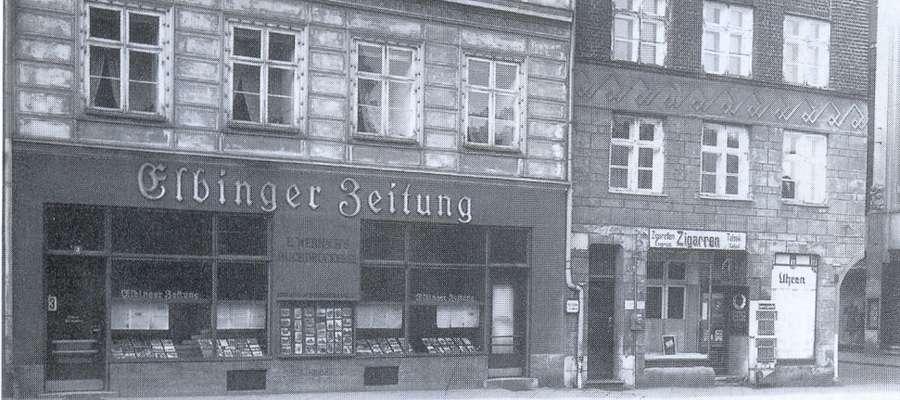 """Siedziba """"Elbinger Zeitung"""""""