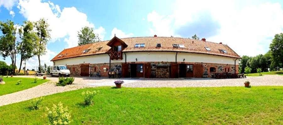Jeden z obiektów Folwarku Łękuk