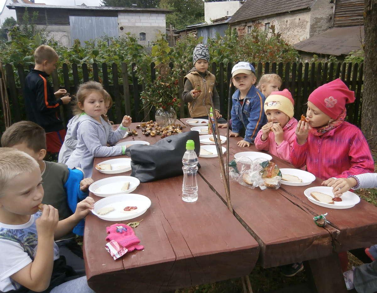 Dzieci miło spędziły czas na łonie natury