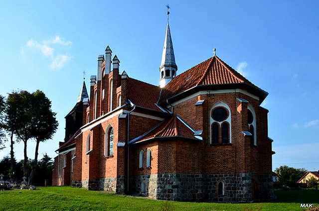 Skolity: kościół parafialny p.w. Narodzenia Najświętszej Marii Panny - full image