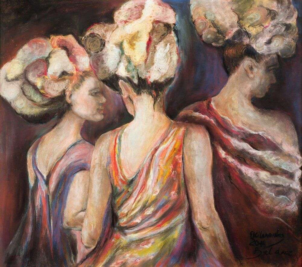 Wernisaż wystawy malarstwa Ewy Kilanowskiej: KOBIETY - full image