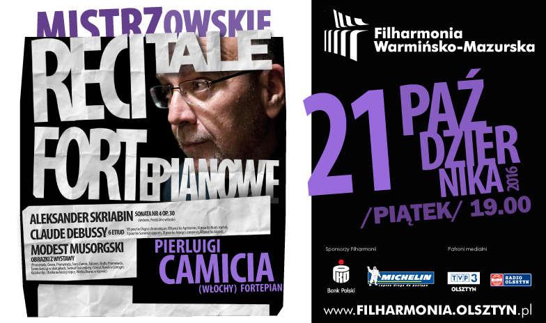 Mistrzowski recital fortepianowy w Filharmonii Warmińsko-Mazurskiej  - full image