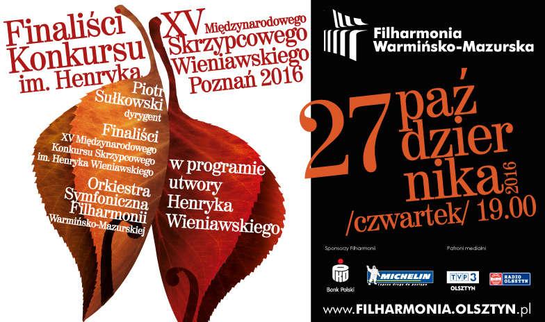 Laureaci międzynarodowego konkursu wystąpią w Filharmonii Warmińsko-Mazurskiej - full image