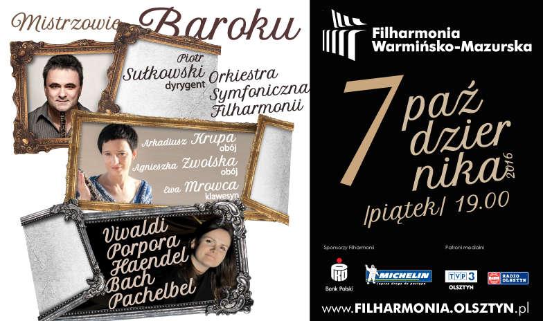 """Koncert pt. """"Mistrzowie baroku""""  - full image"""