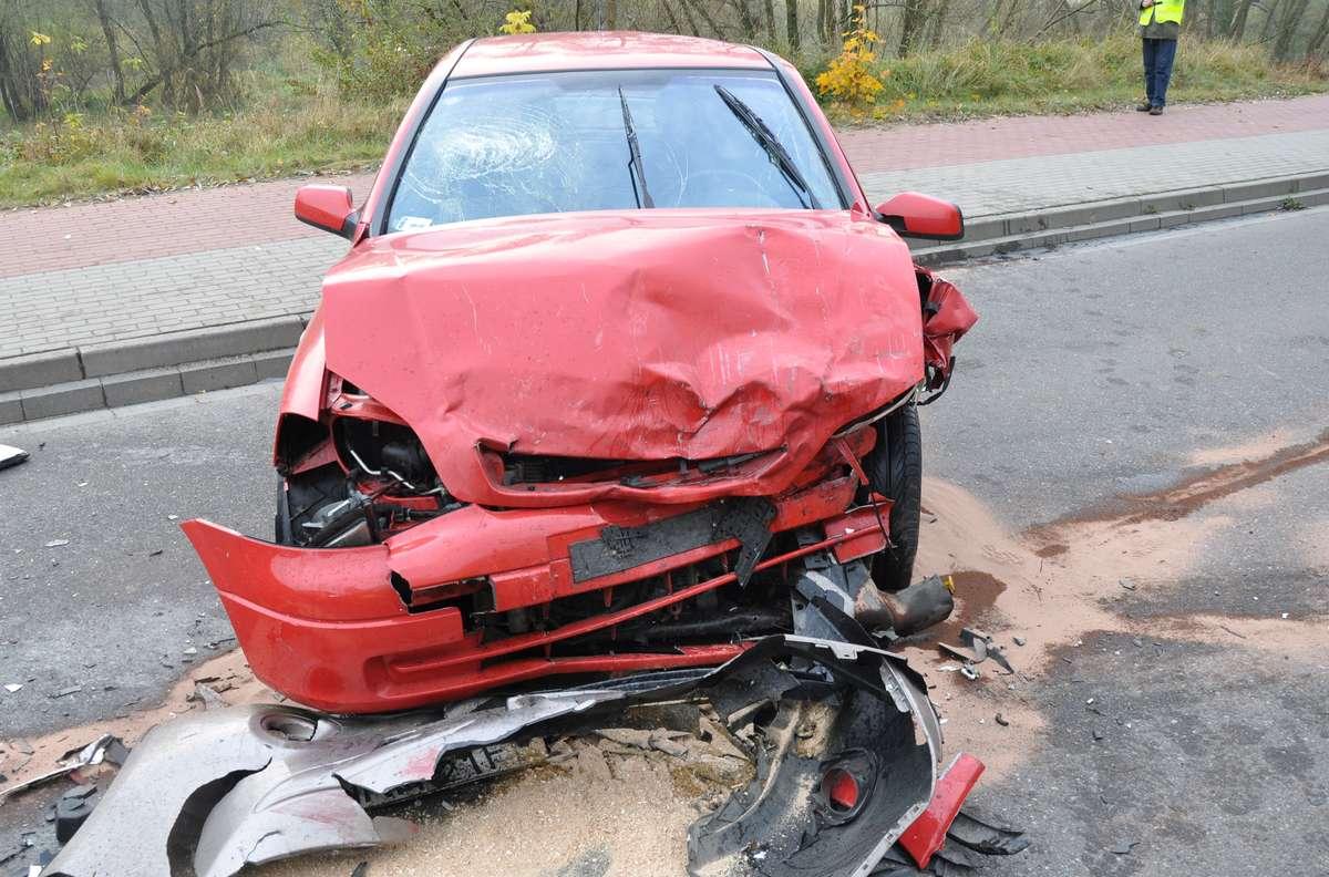 Nissan po wypadku