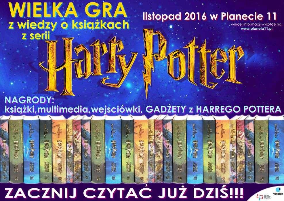 Wielka Gra z Harrym Potterem w Planecie 11 - full image