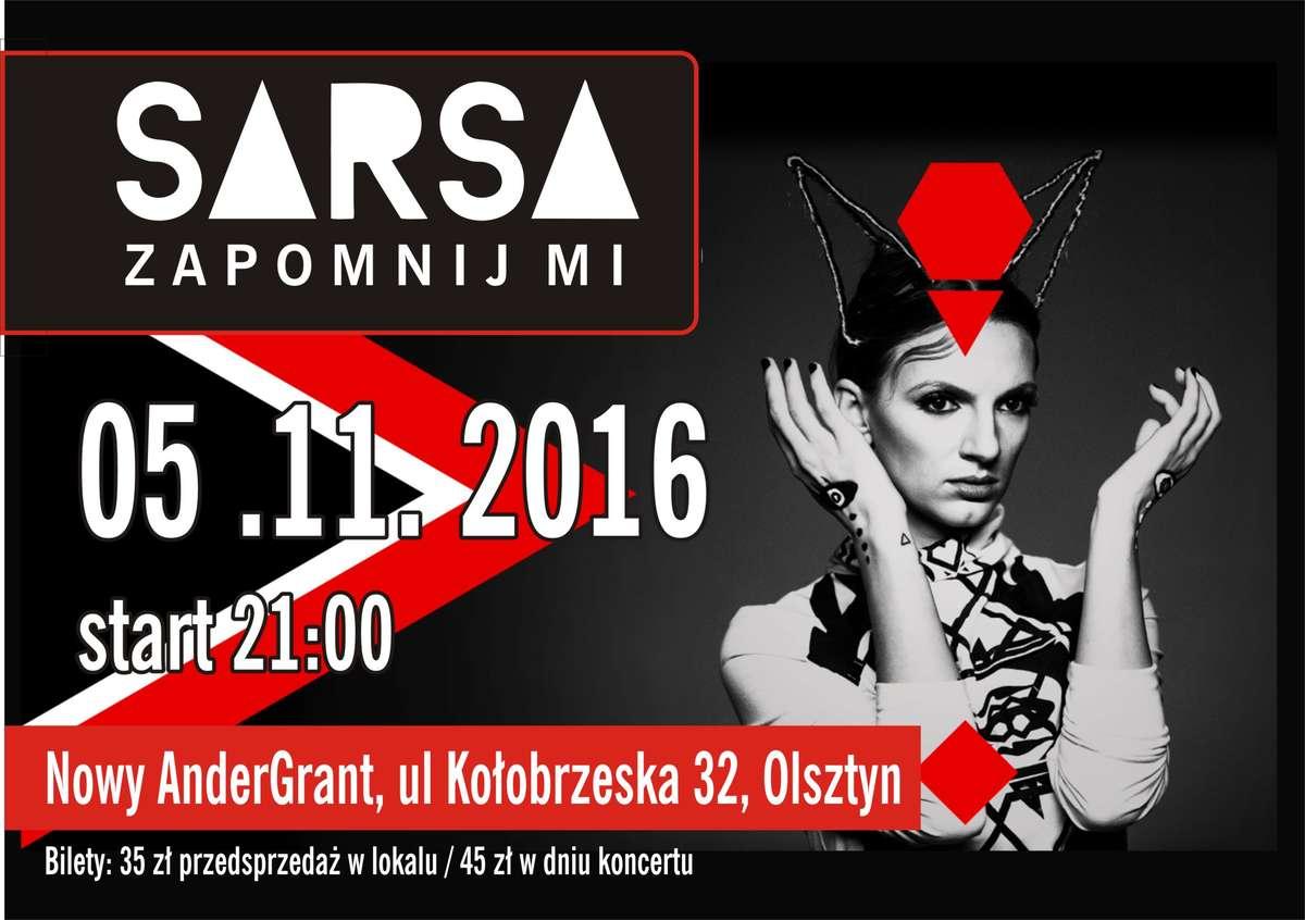 Sarsa wystąpi w Olsztynie - full image