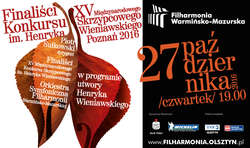 Laureaci międzynarodowego konkursu wystąpią w Filharmonii Warmińsko-Mazurskiej