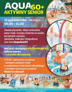 Aktywny senior w olsztyńskiej Aquasferze - sprawdź program!