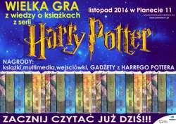 Wielka Gra z Harrym Potterem w Planecie 11