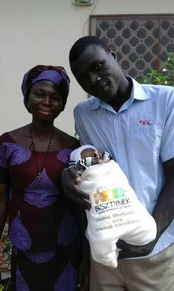 Mała Samuela została mieszkanką Bisztynka, choć urodziła się i mieszka w Biankouri w Togo, w Afryce.