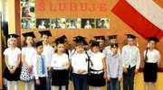 Ślubowanie uczniów klasy I w SP Perły