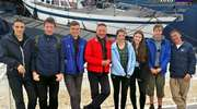 Za grupą turystyczno-żeglarską iławskiego MOS-u pierwsze morskie mile