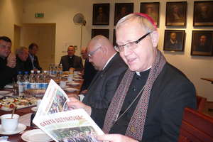 Z wizytą u biskupa