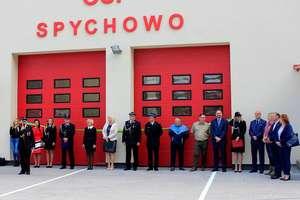 Spychowscy strażacy są dumni z nowej remizy