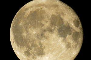 Superksiężyc świecił nad nami