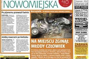 """Jutro nowy numer """"Gazety Nowomiejskiej"""""""