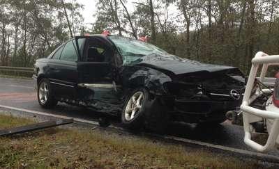 Dwa wypadki, sześć osób rannych