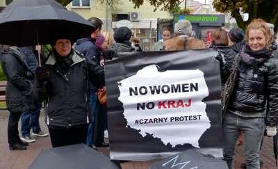 Ogólnopolski Strajk Kobiet Runda II. Mrągowianki ponownie wyszły na ulice