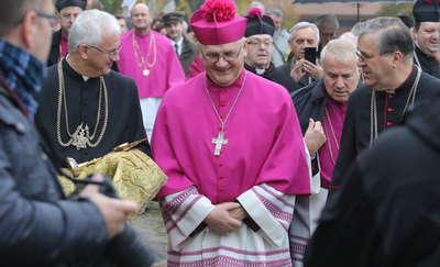 Biskup Górzyński przekroczył Wrota Warmii