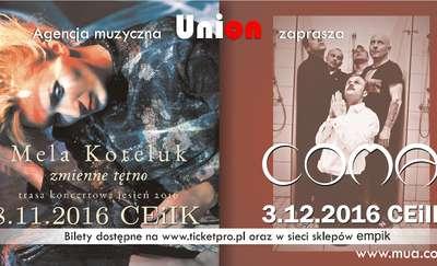 Mela Koteluk i Coma w Olsztynie