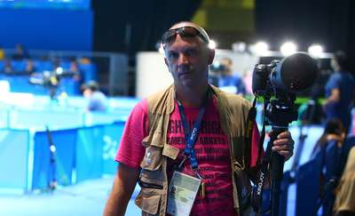 Olecczanin fotografował paraolimpiadę w Rio 2016