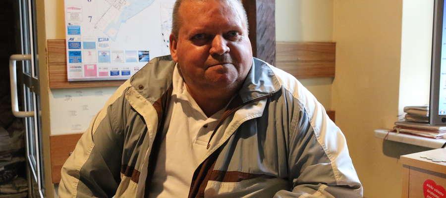 Franciszek Brzozowski, zastępca prezesa koła Miejsko-Powiatowego w Działdowie Polskiego Stowarzyszenia Diabetyków