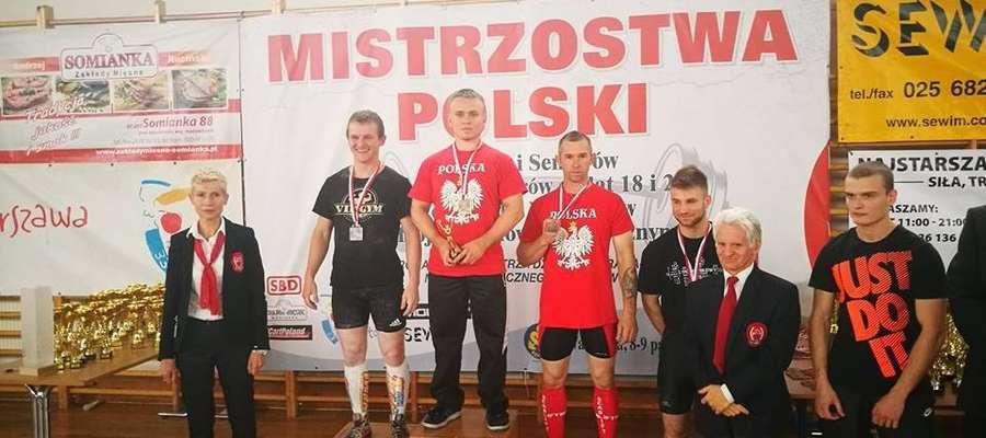Mariusz Grotkowski zdobył kolejny złoty medal mistrzostw Polski fot. facebook Mariusz Grotkowski