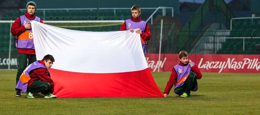 Meczowi towarzyszyć będzie taka sama oprawa, jak na meczach pierwszej reprezentacji, m.in. wniesienie flag państwowych