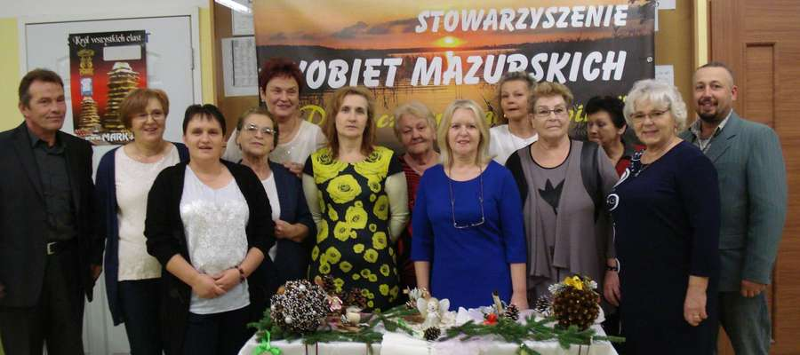 """Stowarzyszenie Kobiet Mazurskich """"Dziewczyny znad Sapiny"""" podczas ubiegłorocznej edycji festiwalu"""